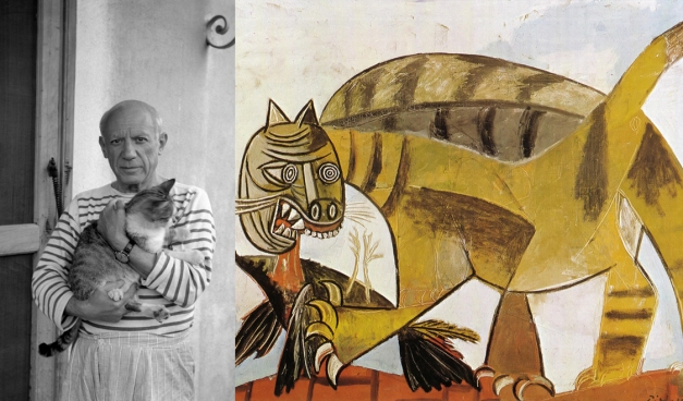 artists-as-cat-lovers-pablo-picasso