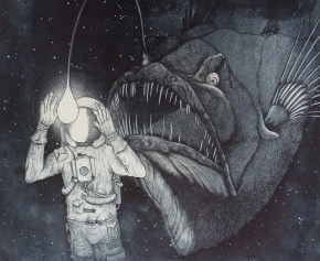 angler fish space