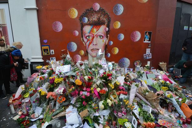 David Bowie has been secretly cremated without a funeral or any family and friends present  Image109