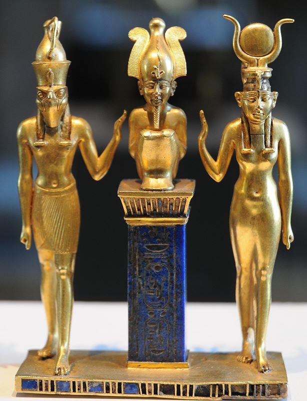 Resultado de imagen para Osiris, Isis, Horus.