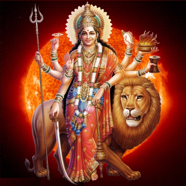Shakti Maa Mother Goddess Durga