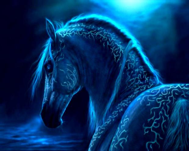 horseblueflame
