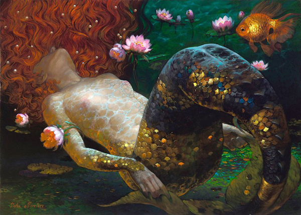 mermaid-by-victor-nizovtsev