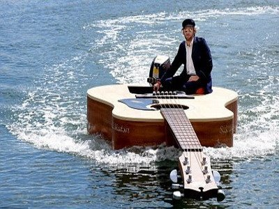 guitar_boat