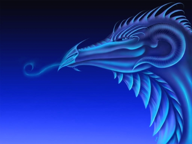 blue-dragon-head