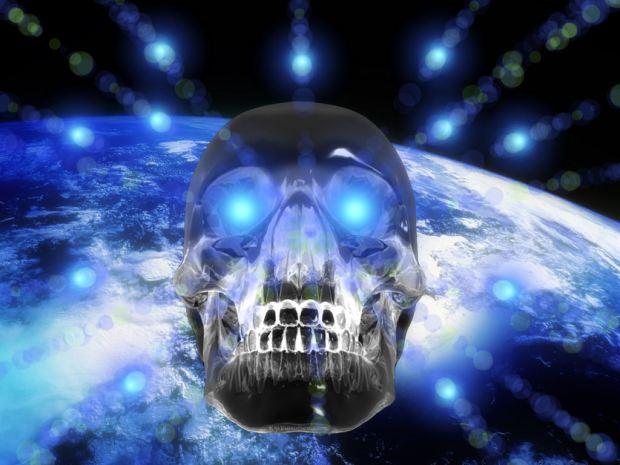 skull-earth