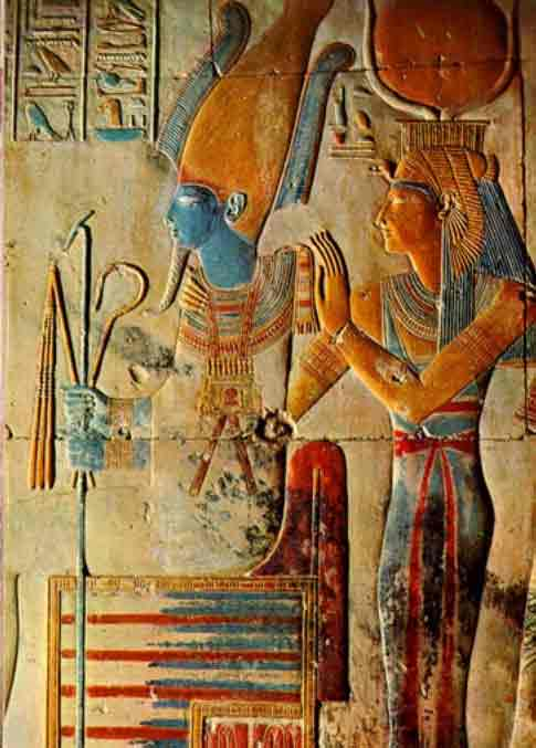 ISIS AND OSIRIS ARE THE NATURAL FORCES OF CREATION : THE ORIGINAL LIVING BEINGS OF LIGHT