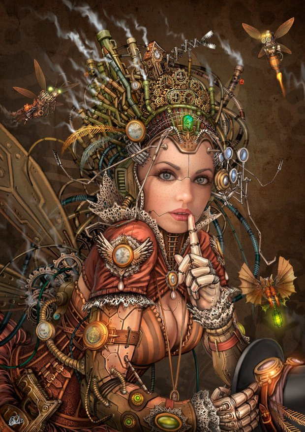 silence_please___steampunk_fairy_by_darkakelarre-d7sechn
