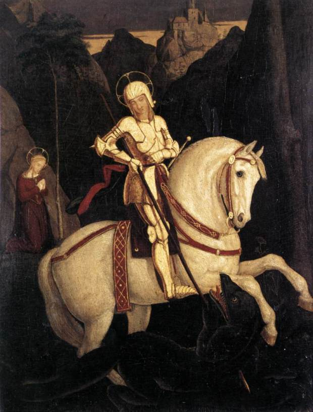 franz_pforr_-_st_george_and_the_dragon_-_wga17399