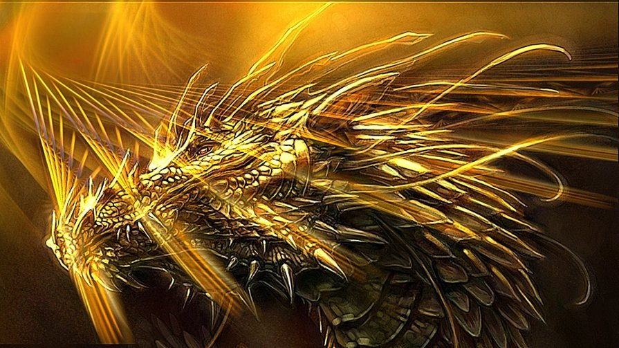 wallpaper-cool-dragon-beauty-fantasy-western-wallpapers-golden-bright-backgrounds-wallwuzz-array