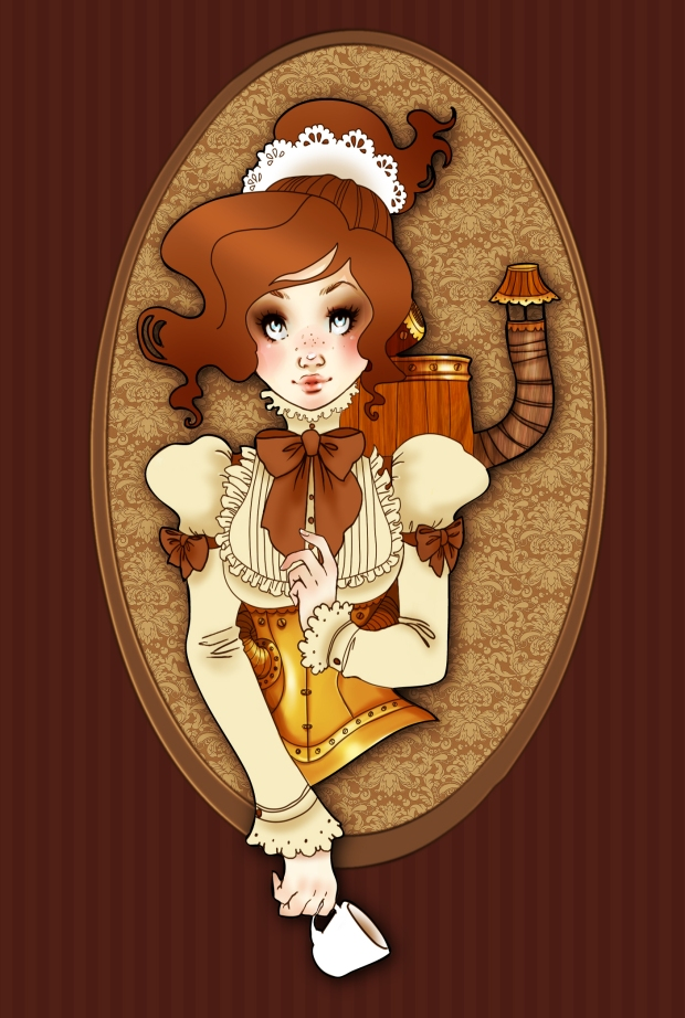 steampunk_robot_maid_by_gali_miau