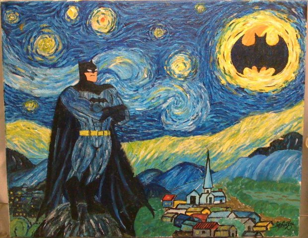 calling_on_batman_on_a_beautiful_starry_night_by_sophiyou-d5s6wwz