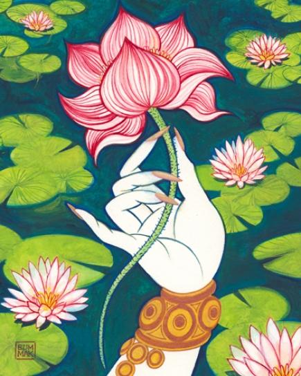 lotusflowerart1