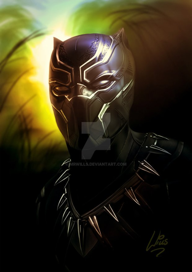 black_panther_by_mrwills-da1deb9