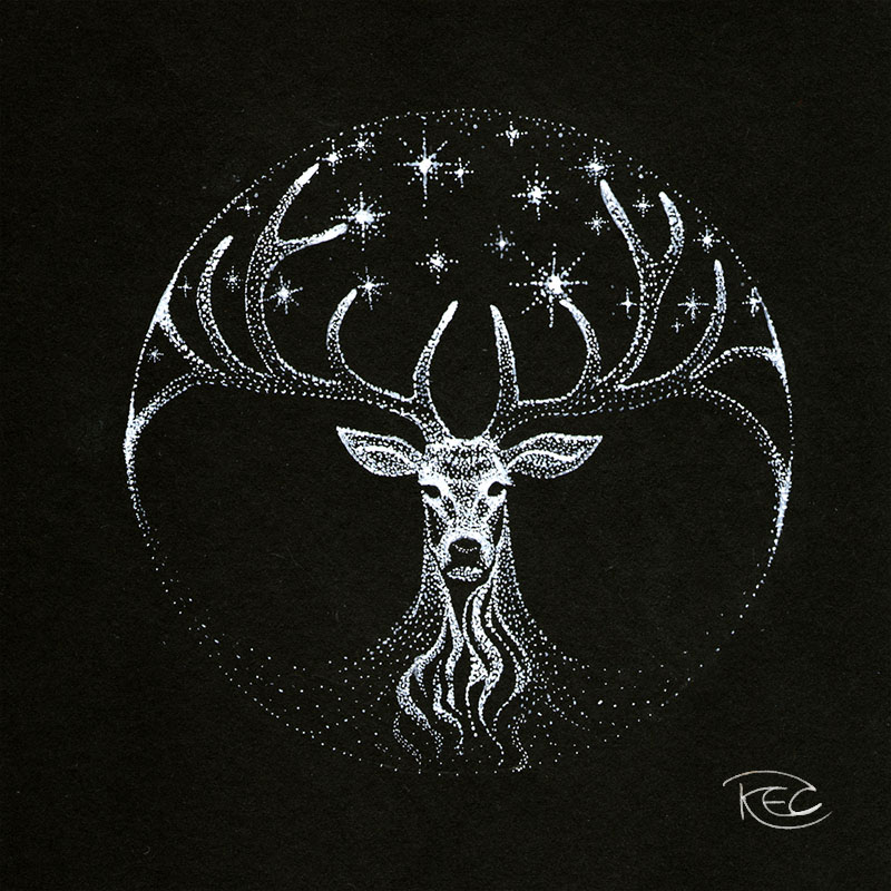 stag_by_kettlequill-d9g0uvo