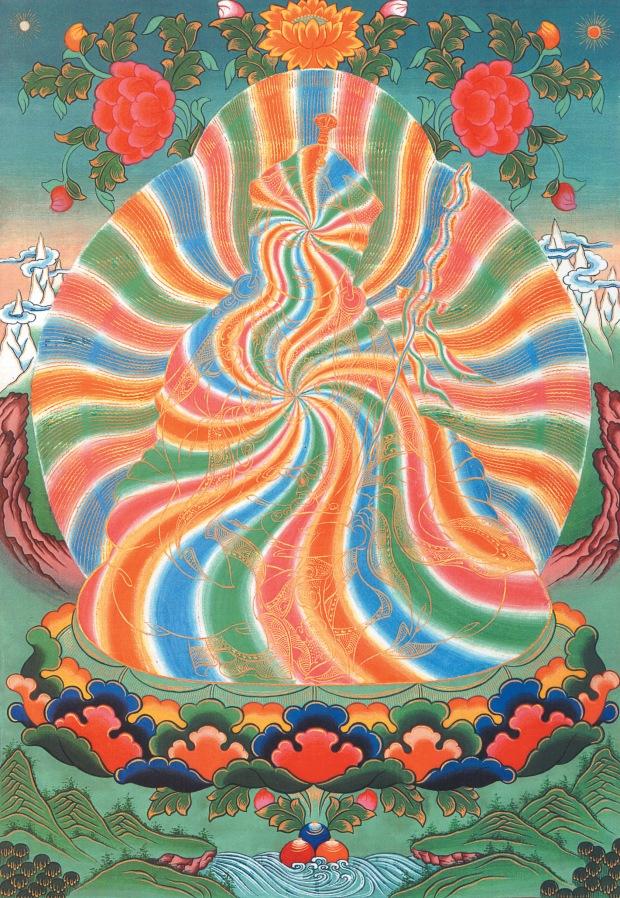 noskov_Raibow_body_of_Guru_Rimpoche