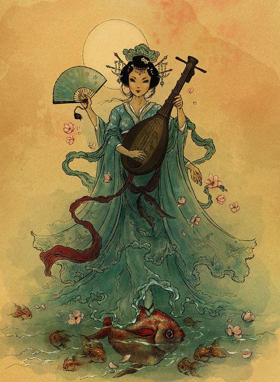 50654ee56667f3017a484638157f4b88-japanese-goddess-japanese-mythology
