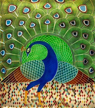 peacock-glass-art