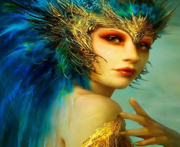 peacockwoman