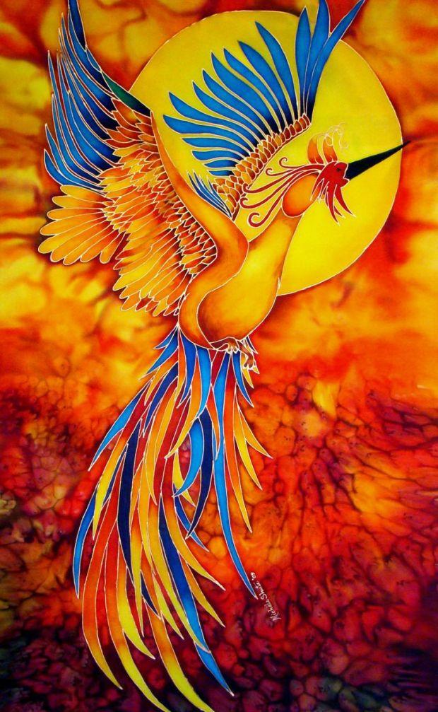 eff849bb8891ae3e593c8646401ea580-phoenix-bird-silk-art