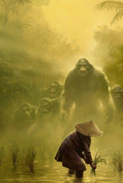 dce6cdae284e403e097b1438a50fe44b-bigfoot-sasquatch-monkey-art