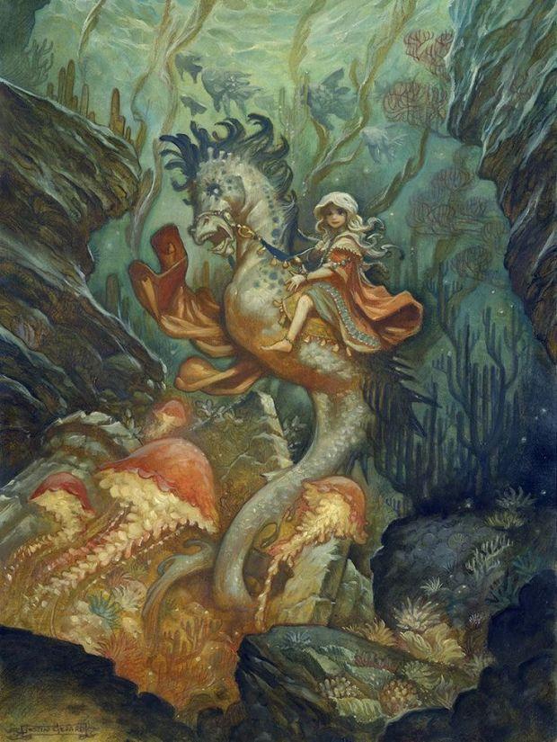 edd7fd2190c04595e8ba14ba0b5a47ff-seahorse-painting-seahorse-art