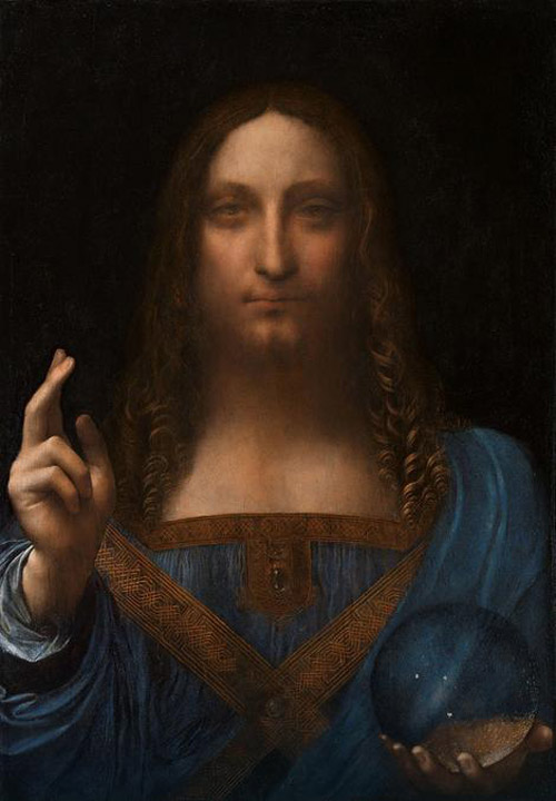 Holy Grail Of Art:  Leonardo da Vinci's Painting Sold For Whopping $450 Million