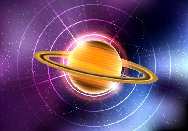 saturn-planet-vector